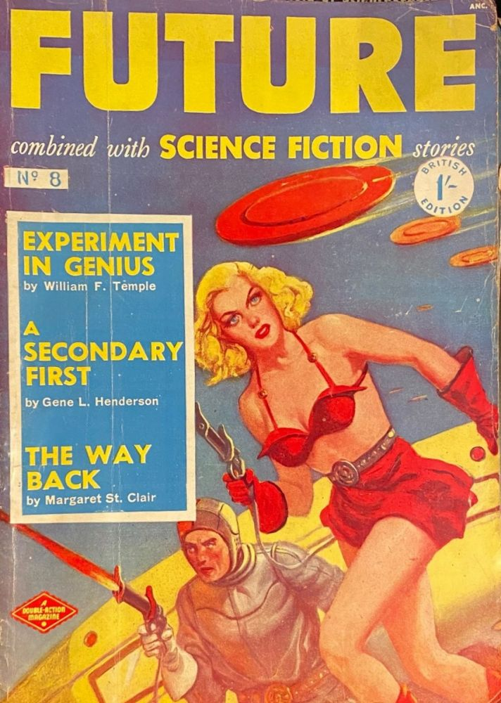FUTURE, Combined with SCIENCE FICTION STORIES, No.8, November 1951.
