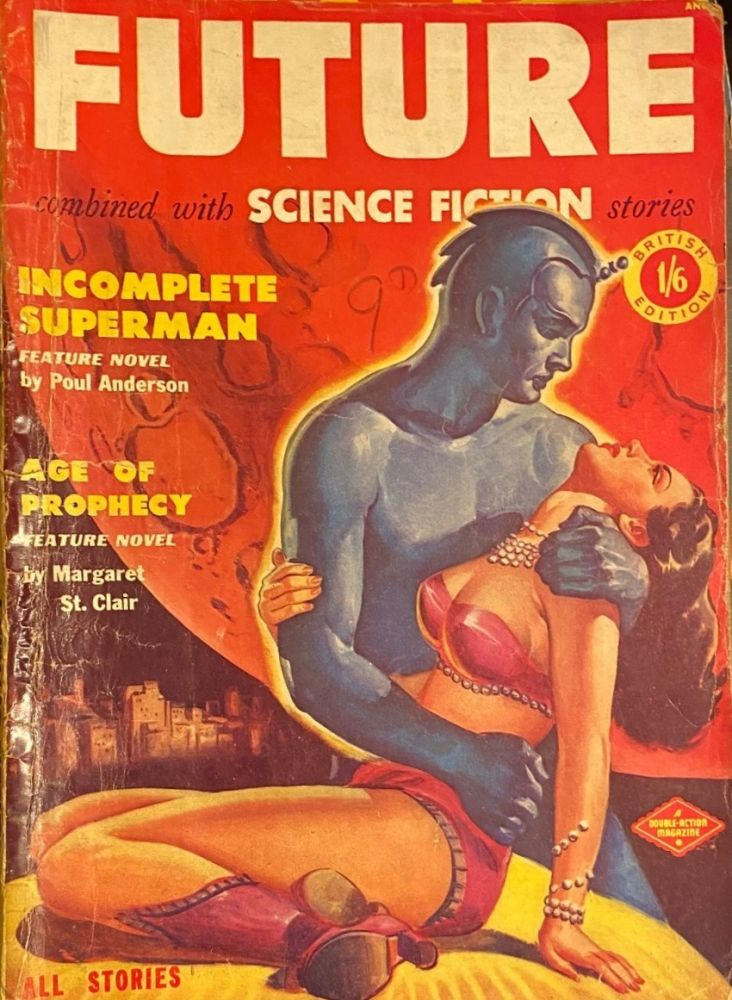 FUTURE, Combined with SCIENCE FICTION STORIES, No. 2