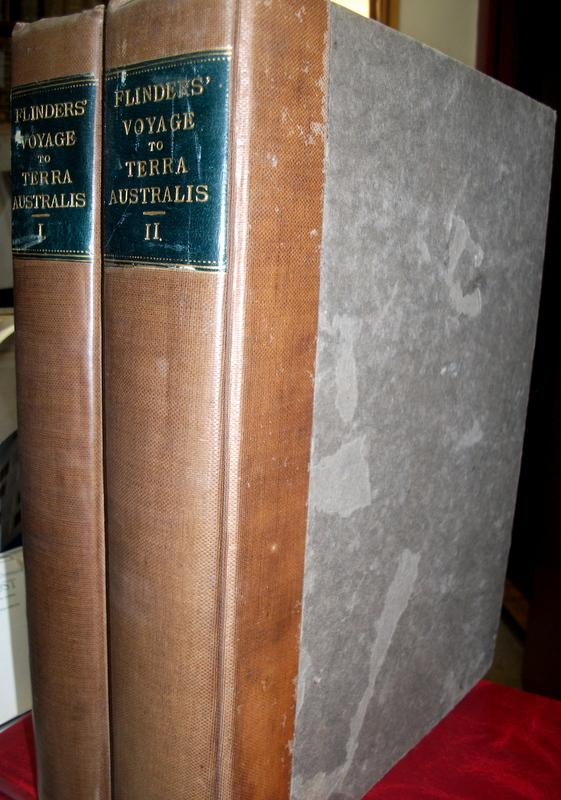 A Voyage to Terra Australis; Undertaken for the Purpose of Completing the Discovery of That Vast Country, and Prosecuted in the Years 1801, 1802, and 1803, in His Majesty's Ship the Investigator...(2 volumes). Matthew FLINDERS.