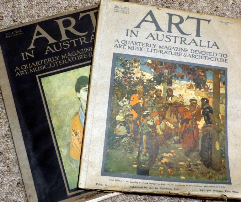 Art in Australia, New Series. Vol.1 No.1-2. February 1st 1922 & May 1st 1922