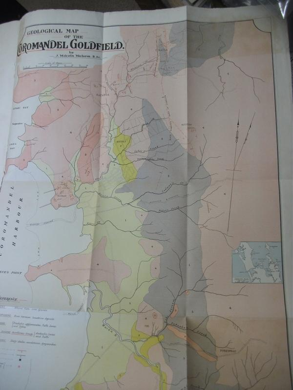 PAPERS AND REPORTS RELATING TO MINERALS AND MINING Comprising Mines Statement. Goldfields of New Zealand. Inspection of Coal-Mines. Puponga and Pakawau Coalfields. Geology of the Coromandel Goldfields.