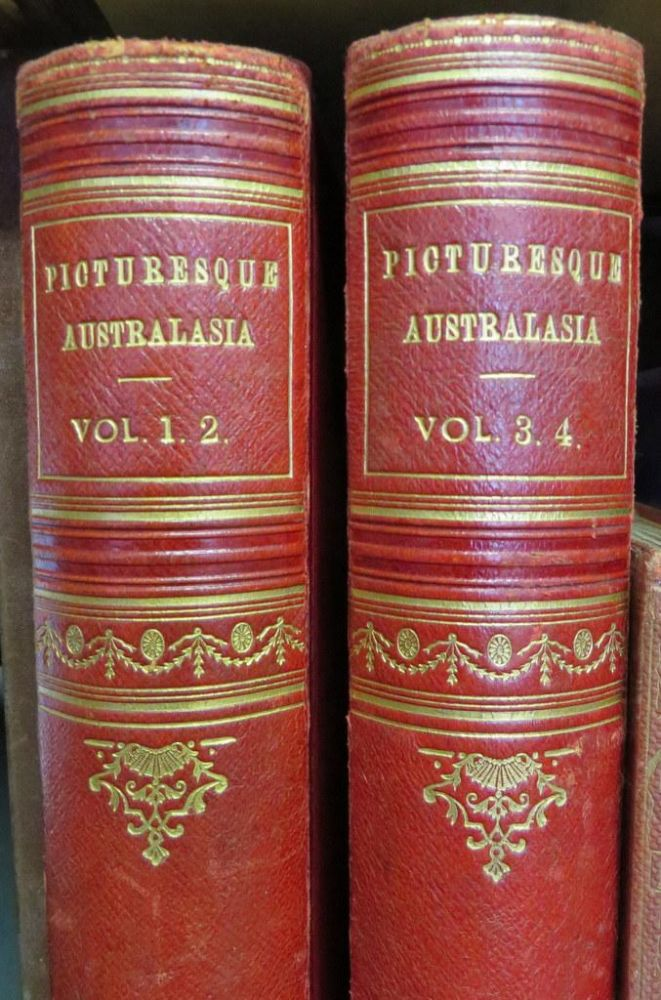 Cassell's Picturesque Australasia. 4 volumes in 2. MORRIS E. E.