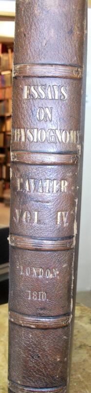 Essays on Physiognomy Designed to promote the knowledge and the love of mankind, Vol III. John Caspar LAVATER.