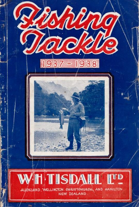 Fishing Tackle 1937-1938. W. H. Ltd TISDALL.