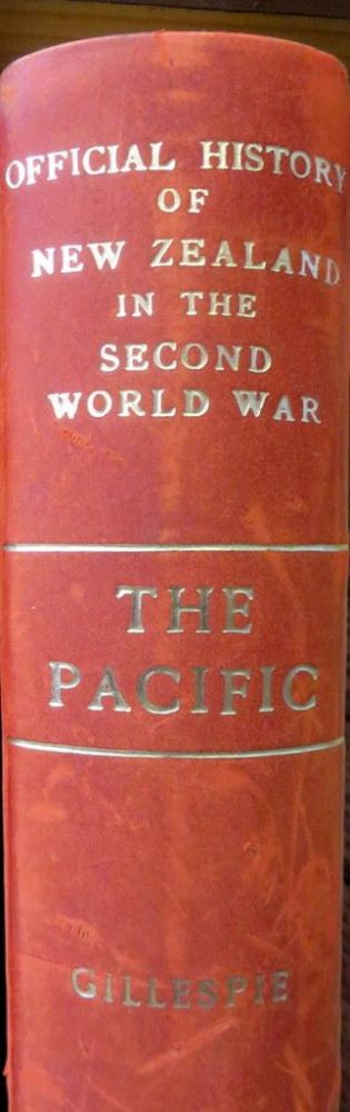 The Pacific. Oliver A. GILLESPIE.