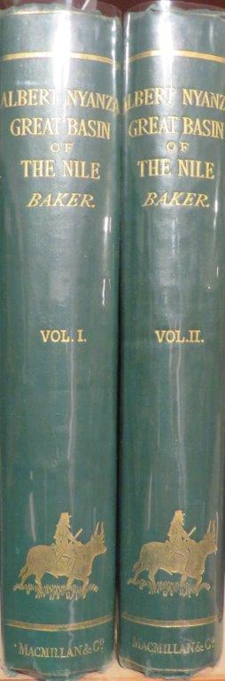 The Albert N'Yanza, Great Basin of the Nile, and Explorations of the Nile Sources. 2 Vols. S. W. BAKER.