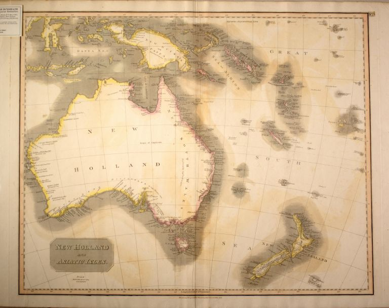 Map of New Holland and Asiatic Isles No. 73