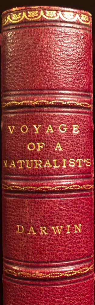 A Naturalists Voyage. Journal Of Reserarches Into The Natural History And Geology Of The Countries During The Voyage Of H.M.S. 'Beagle' Around The World. Charles DARWIN.