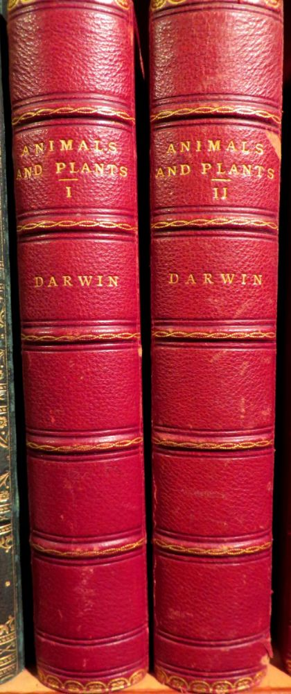 The Variation of Animals and Plants under Domestication, Second Edition, Revised, Eighth Thousand. Charles DARWIN.