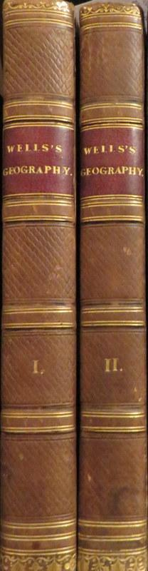 An Historical Geography of the Old Testament in Two Volumes. Edward WELLS.