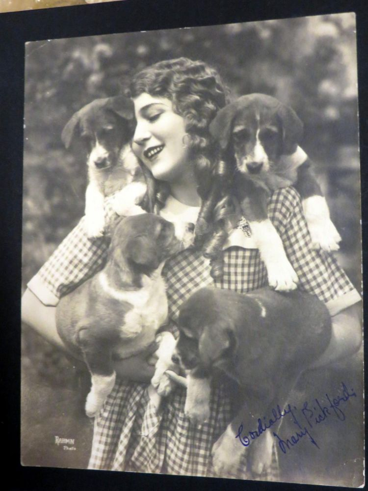 Mary Pickford Album. A Privately Collected Series of ... Large Photographs of Mary Pickford, Mary PICKFORD.