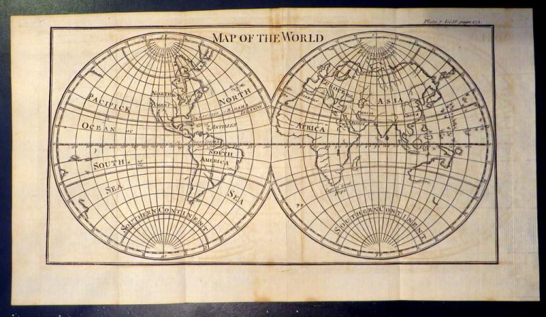 Map of the World. MAP.