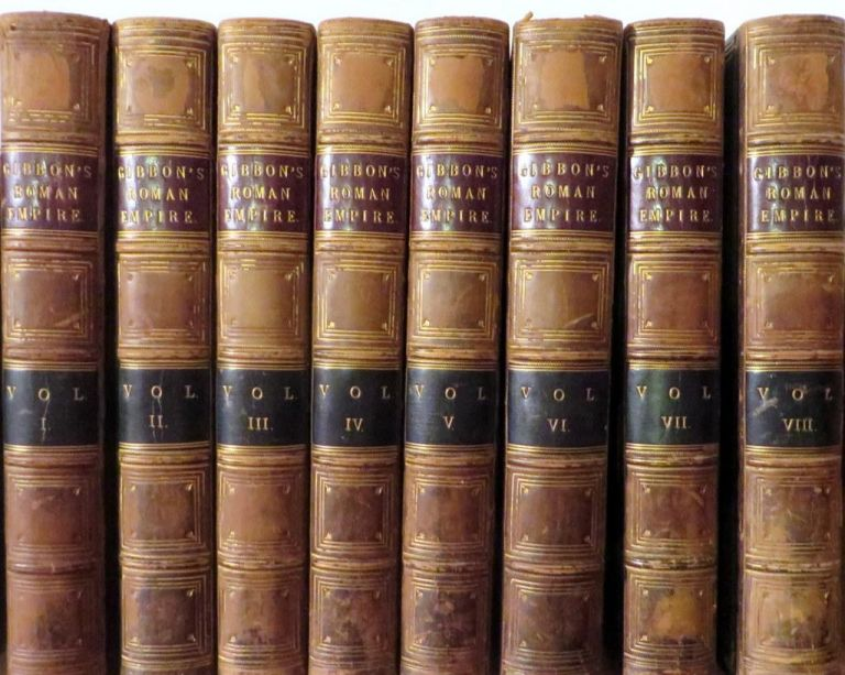 The Decline and Fall of the Roman Empire. Edward GIBBON.