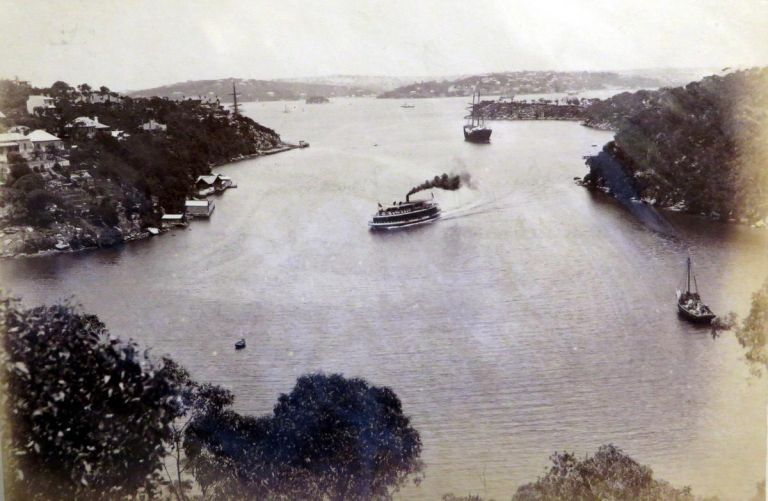 Sydney Harbour. Photograph.
