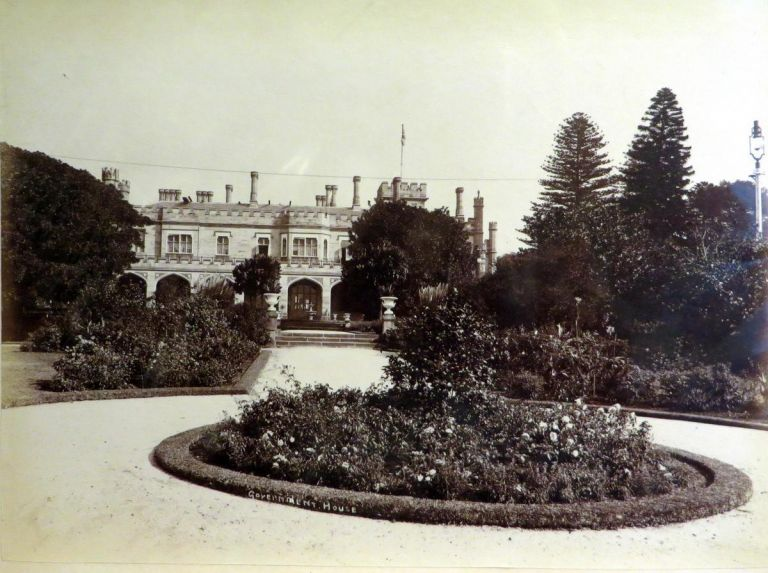 Government House, Sydney. Photograph.
