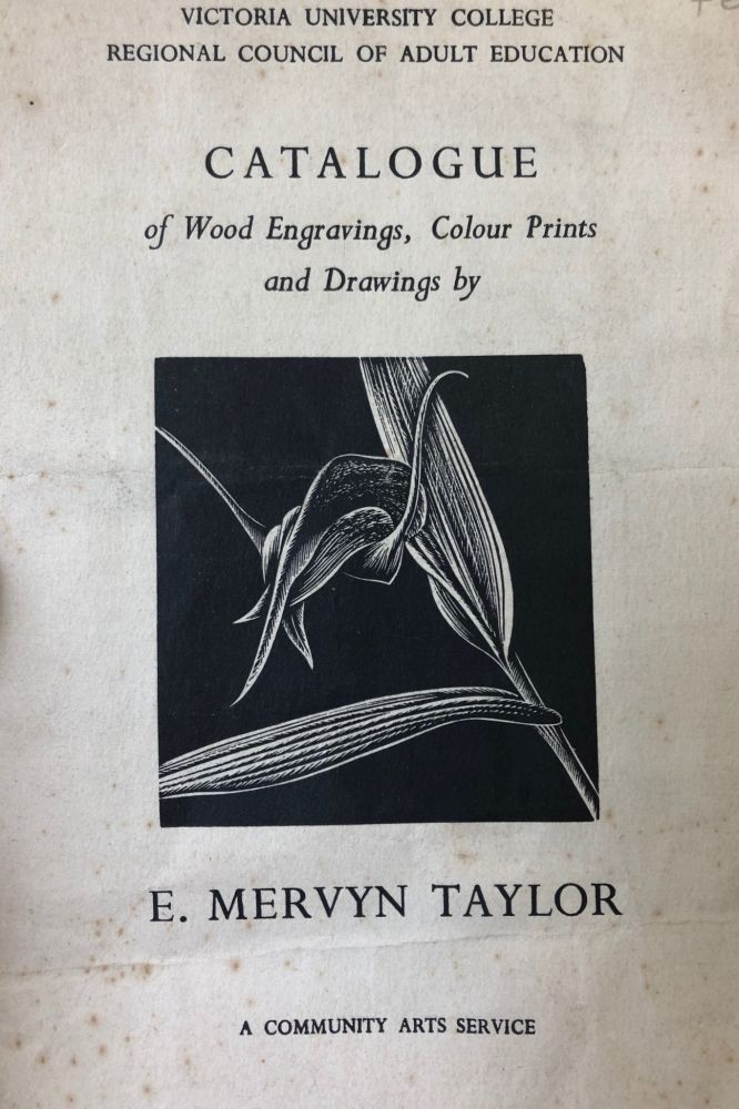 Catalogue of Wood Engravings, Colour Prints and Drawings by E. Mervyn Taylor