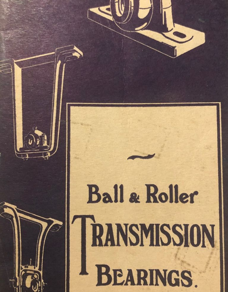 Ball and roller transmission bearings. Catalogue. Ransome, Marles Bearing Co Ltd.