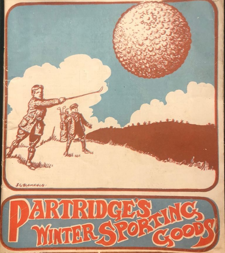 Winter sporting goods. Catalogue. Partridge, Co.