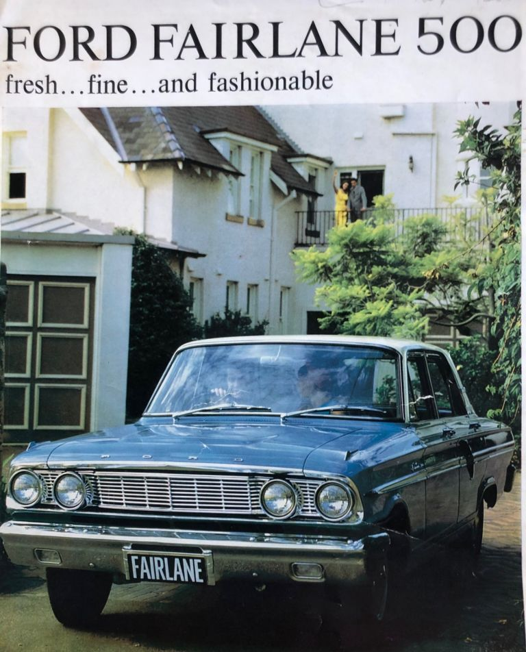 The Ford Fairlane 500. Brochure. Ford Motor Company.
