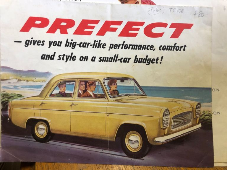 Ford Prefect. Ford Motor Company.