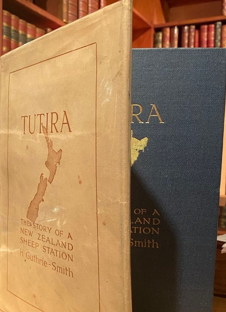 Tutira : The Story of a New Zealand sheep Station. William H. GUTHRIE-SMITH.