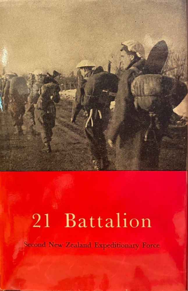 21 Battalion. Official History of New Zealand in the Second World War 1939-1945. Cody.