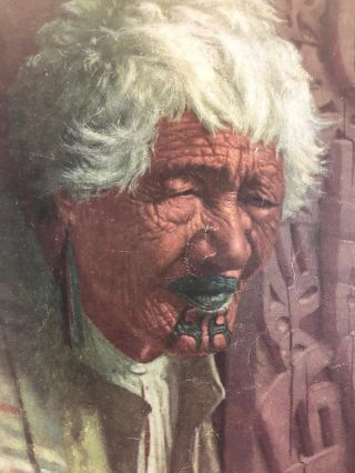 Art and the Maori: a set of of colour plates by the New Zealand artist C.F. Goldie, with...