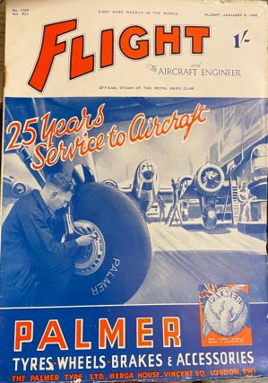 FLIGHT and Aircraft Engineer : The First Aeronautical Weekly in the World