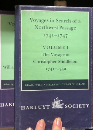Voyages to Hudson Bay in Search of a Northwest Passage 1746-1747. William BARR, Glyndwr WILLIAMS