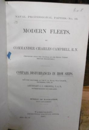 Modern Fleets (reprinted from the Journal of the Royal United Service institution) ; (and)...