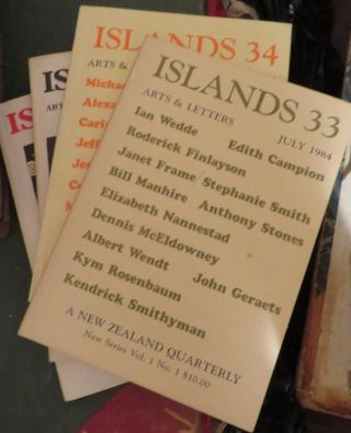 ISLANDS : a New Zealand Quarterly of Arts and Letters