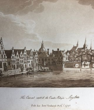 A Picturesque Tour Through Holland, Brabant, and Part of France, Made in the Autumn of 1789 ;...