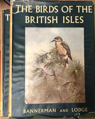 The Birds of the British Isles. David A. BANNERMAN