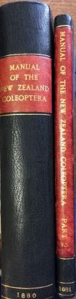 Manual of the New Zealand Coleoptera. Parts I and II. THOMAS Captain BROUN
