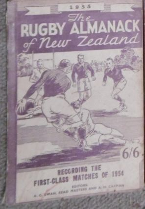 The Rugby Almanack of New Zealand, 1955 Edition