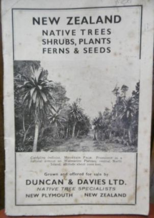 New Zealand Native Trees, Shrubs, Plants, Ferns & Seeds