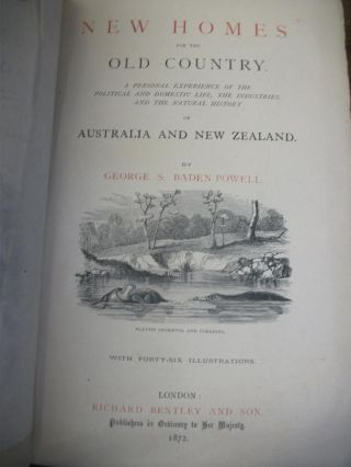 New Homes for the Old Country : a Personal Experience of the Political and Domestic Life, the...