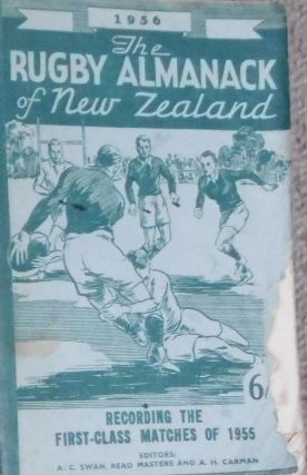 The Rugby Almanack of New Zealand, 1956 Edition
