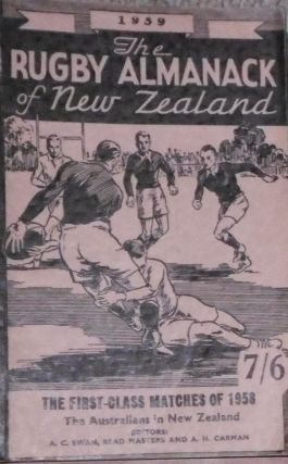 The Rugby Almanack of New Zealand, 1959 Edition
