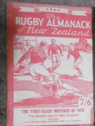 The Rugby Almanack of New Zealand, 1960 Edition