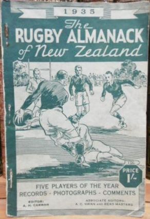 The Rugby Almanack of New Zealand, 1935 Edition