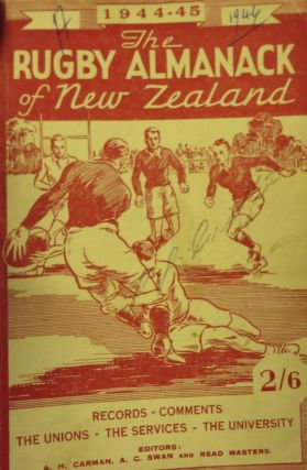 The Rugby Almanack of New Zealand, 1944-45 Edition