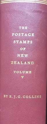 The Postage Stamps of New Zealand, Vol. V.; The Stamps and Postal History of the Pacific Islands...