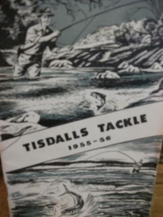 TISDALLS TACKLE 1955-56