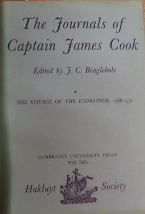 The Journals of Captain James Cook on His Voyages of Discovery Vol. 1, The Voyage of the...
