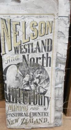NELSON, WESTLAND AND NORTH CANTERBURY. A Mining and Pastoral Country. Map