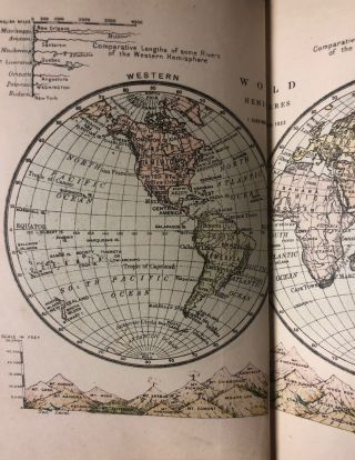"Murby's Geography and Atlas, Consisting of the ""Elementary Geography for schools"" A. H. DICK"