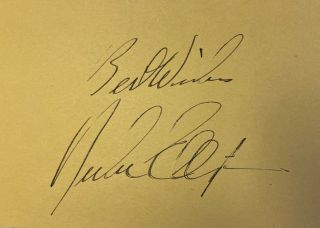 "Signed album leaf. Edward Kennedy ""Duke"" ELLINGTON"