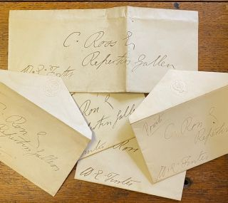 Signed envelope. William Edward FORSTER