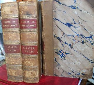 Essays on Physiognomy ; for the Promotion of The Knowledge and the Love of Mankind ; Translated Into English By Thomas Holcroft. Volumes 1-3